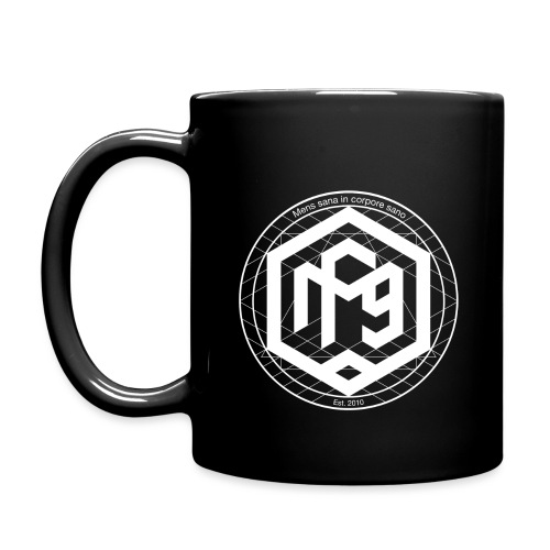 Mens sana white png - Full Colour Mug