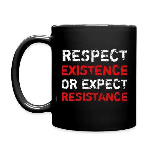 respect existence or expe - Yksivärinen muki