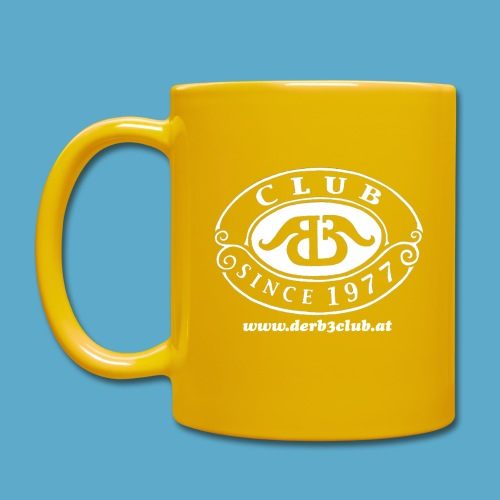 B3Club weiß groß png - Tasse einfarbig