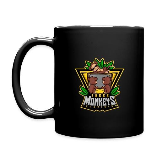 ThreeMonkeysTV-LOGO - Tasse einfarbig