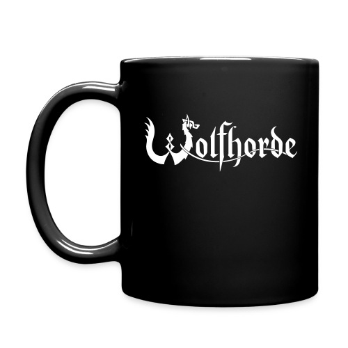 wolfhorde vector white - Full Colour Mug