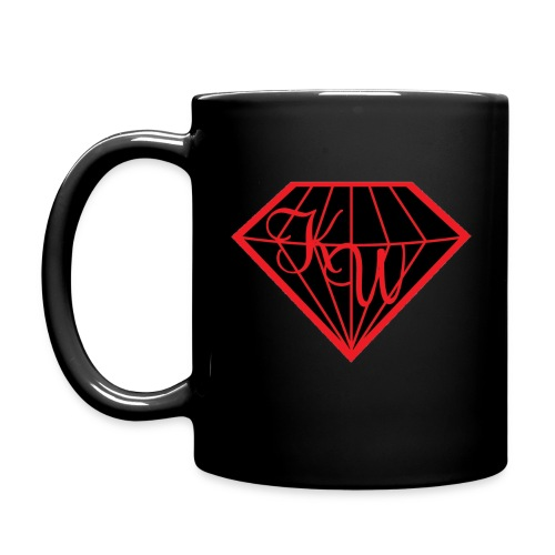 diamond black in - Tasse einfarbig
