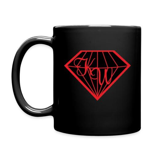 diamond black in - Tasse einfarbig