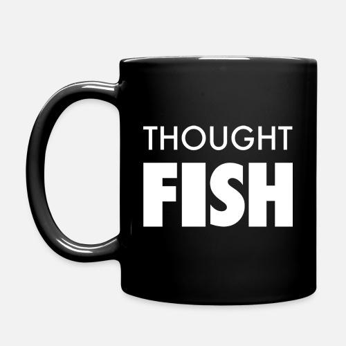 Thoughtfish font logo - Full Colour Mug