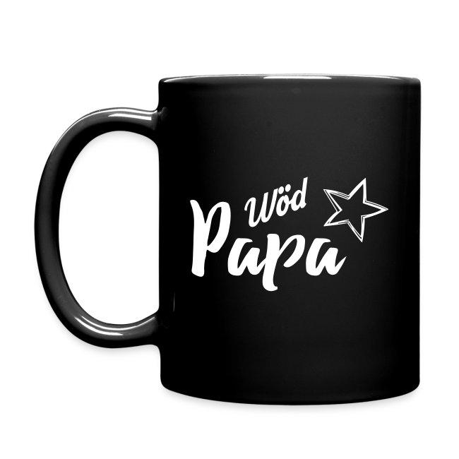 Vorschau: Wöd Papa - Tasse einfarbig