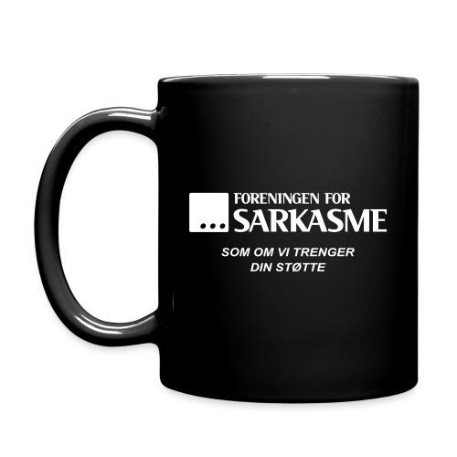 Foreningen for sarkasme - Som om vi trenger din