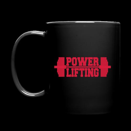 Powerlifting Langhantel - Tasse einfarbig