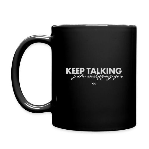 KEEP TALKING GC - Tasse einfarbig