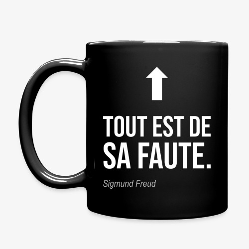 Tout est de sa faute (Freud) - Mug uni