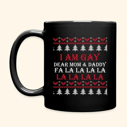 Gay Christmas sweater - Kubek jednokolorowy