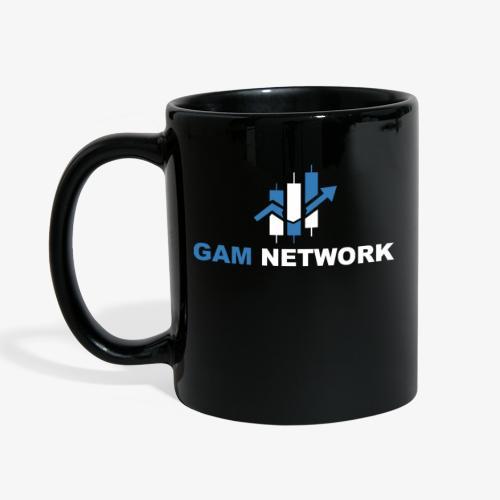 GAM NETWORK weiß - Tasse einfarbig