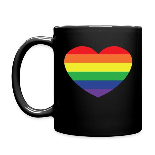 Rainbow heart - Full Colour Mug