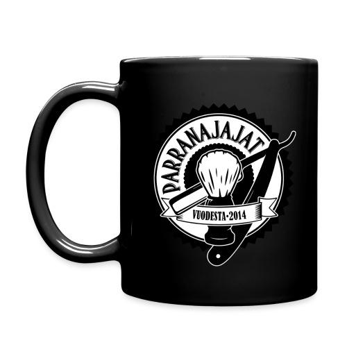 PARRANAJAJAT_logo-black-i - Yksivärinen muki