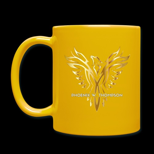 Golden Phoenix Design - Full Colour Mug
