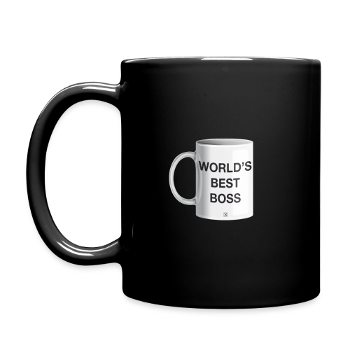 World's best boss - Taza de un color