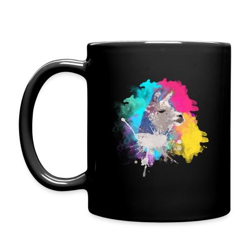 Colorful Llama - Ensfarvet krus