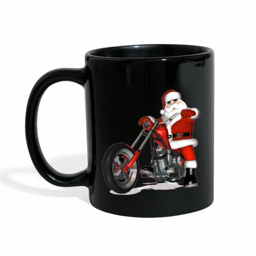 santa bike - Full Colour Mug