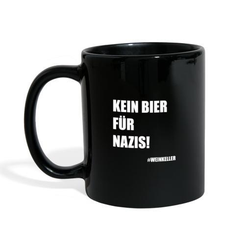Kein Bier für Nazis! - Tasse einfarbig