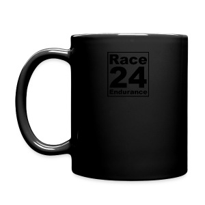 Race24 logo in black - Full Colour Mug