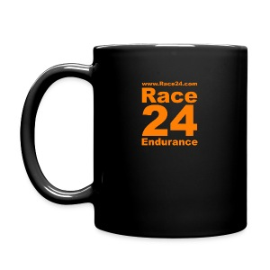 Race24 Logo in Orange - Full Colour Mug