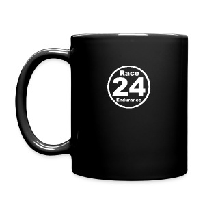 Race24 round logo white - Full Colour Mug