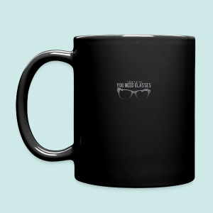 Need Glasses - Black - Tasse en couleur