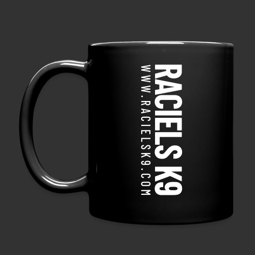 Raciels K9 TEXT - Full Colour Mug