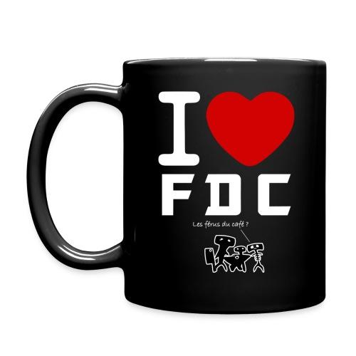 Tasse I Love FDC Blanc Férus de café - Mug uni