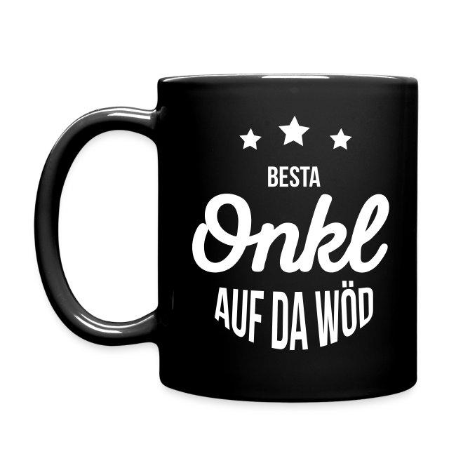 Vorschau: Besta Onkl auf da Wöd - Tasse einfarbig