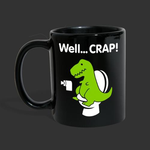 Well crap T-rex - Enfärgad mugg