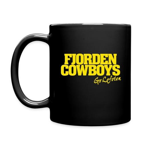 FJORDEN_COWBOYS_GO_LOFOTE - Ensfarget kopp