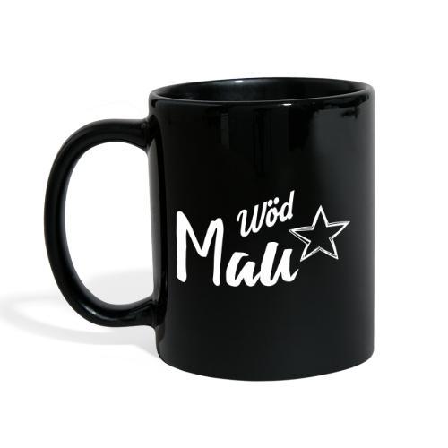 Vorschau: Wöd Mau - Tasse einfarbig