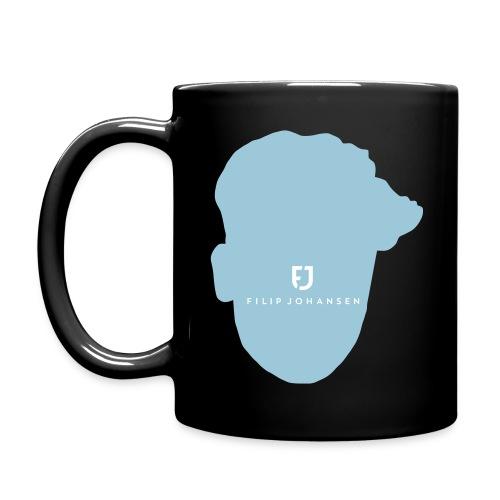 emty face logo filip joha - Ensfarget kopp