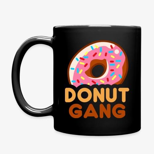 Donut Gang - Logo (med tekst) - Ensfarvet krus