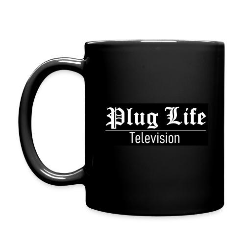 Plug Life Television Logo - Full Colour Mug