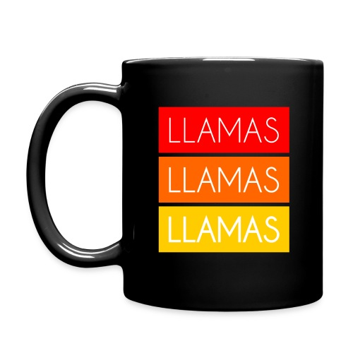 Llamas Llamas Llamas - Ensfarvet krus
