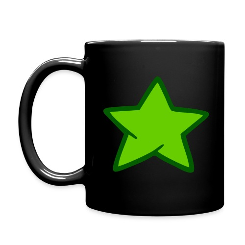 Estrella verde - Taza de un color