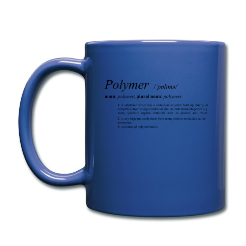 Polymer definition. - Full Colour Mug