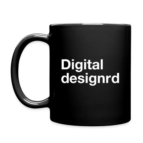 Digital designrd - Ensfarget kopp