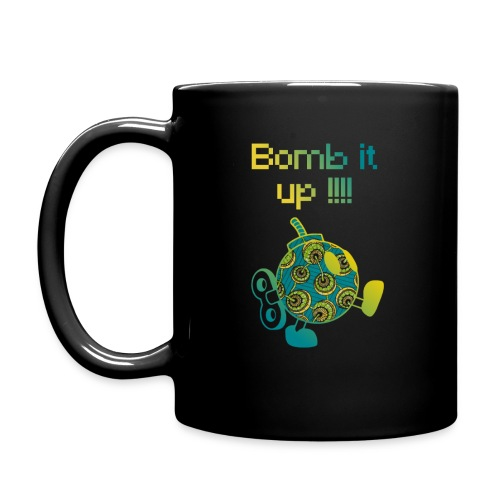 Bomb It Up : Green Power !!! - Mug uni