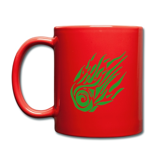 Komet_Logo_groß - Tasse einfarbig