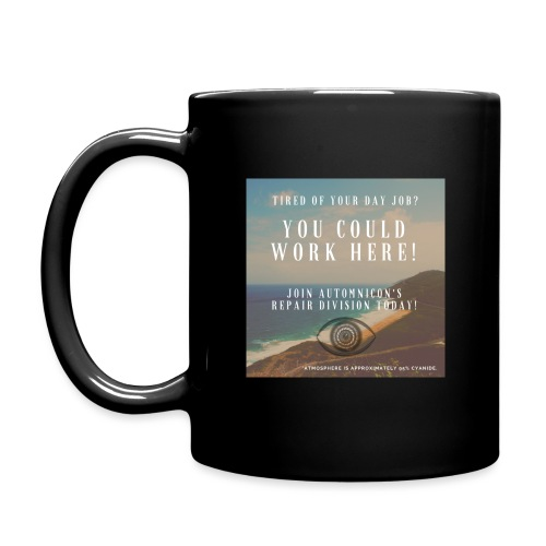 Automnicon. Are you tired of your day job? - Full Colour Mug