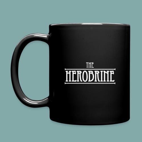 The Herobrine-Logo Flat W - Full Colour Mug