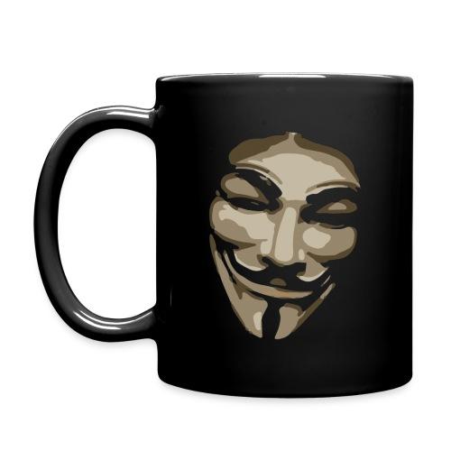 Anonymous Mask Comicstyle - Yksivärinen muki