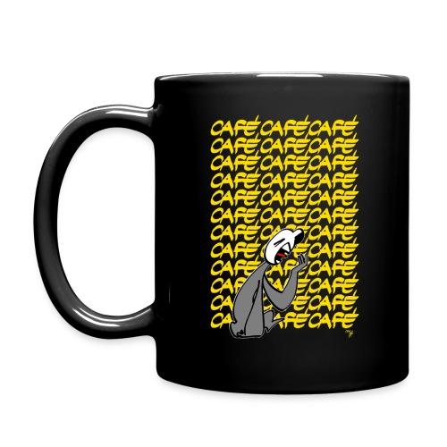 Moka lettres jaunes - Mug uni