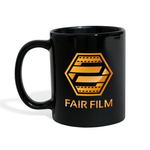 Fair Film Logo - Ensfarvet krus