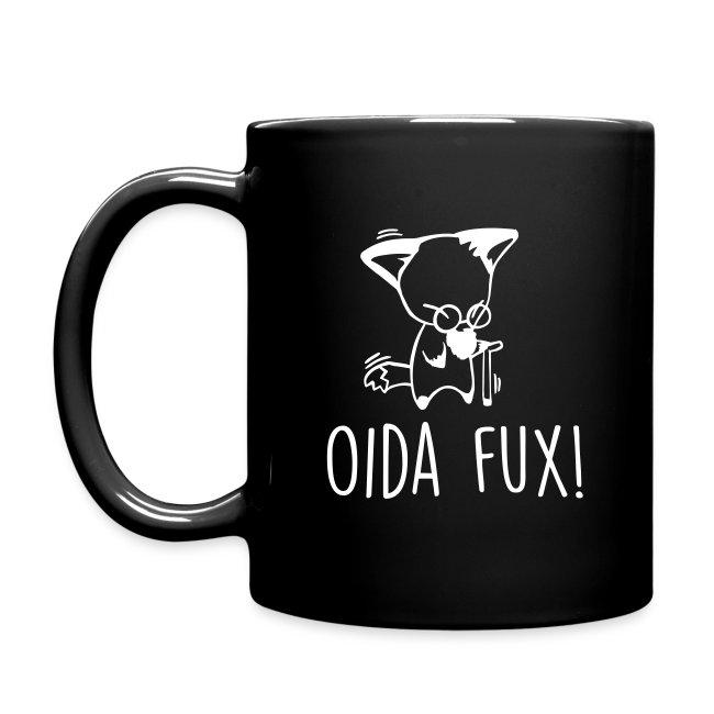 Vorschau: Oida Fux - Tasse einfarbig