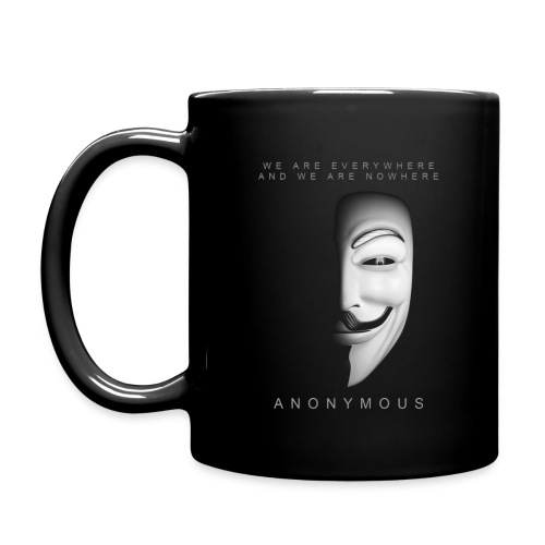 Anonymous Everywhere Nowh - Taza de un color