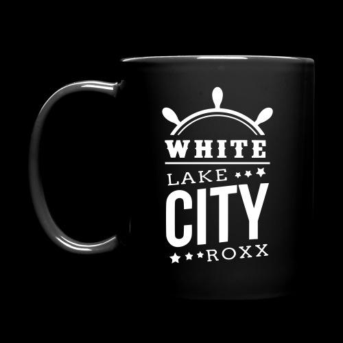White Lake City Roxx Hoch - Tasse einfarbig