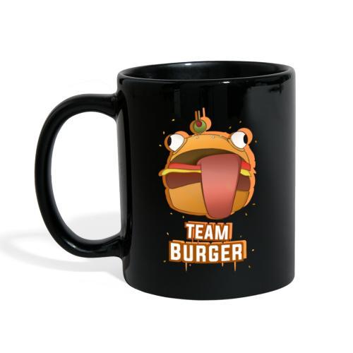 Team burguer - Taza de un color